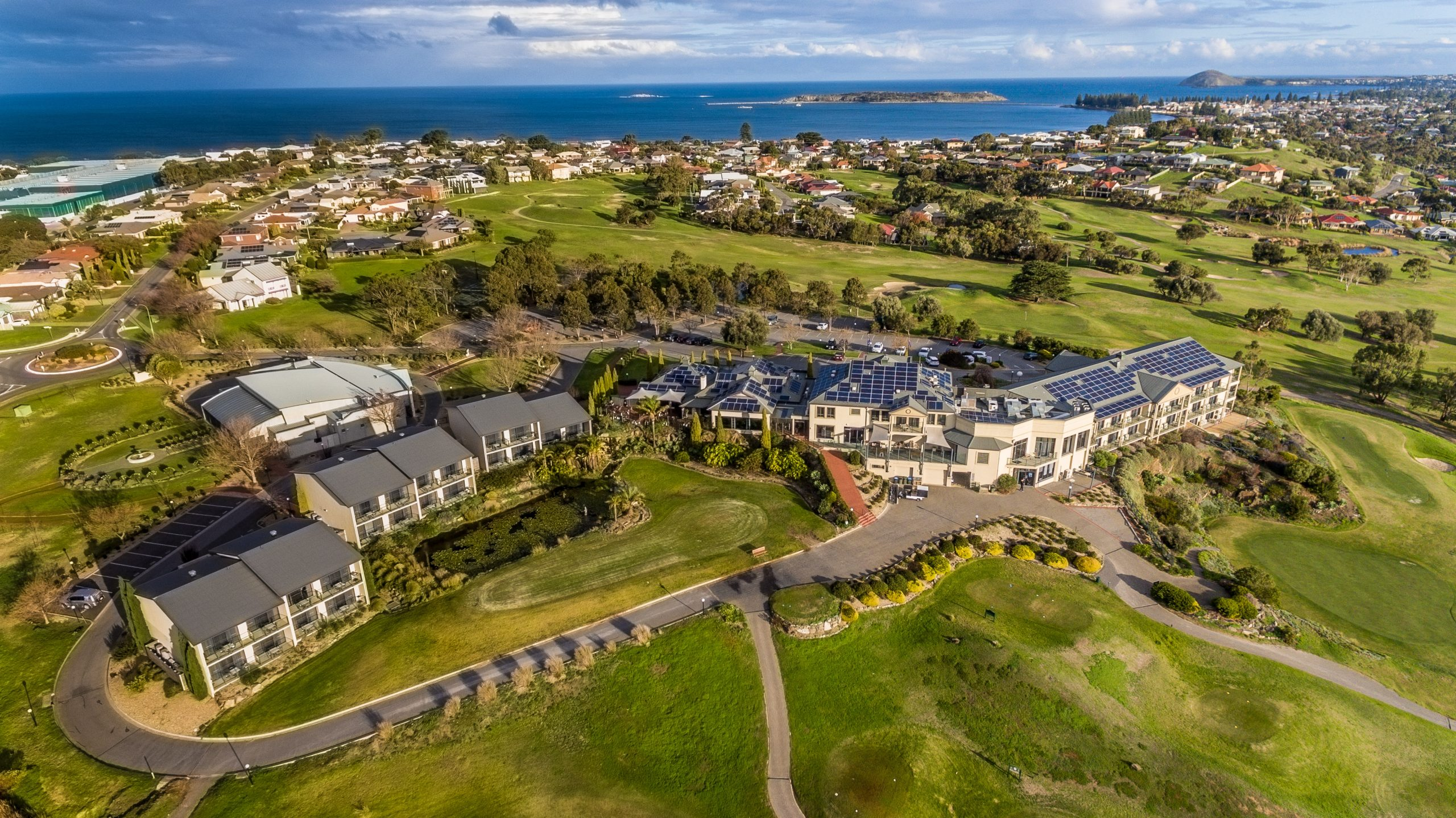 Nine News Adelaide feature McCracken Country Club