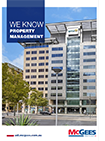 This is a thumbnail of the front cover of the Property Management Capability Statement at McGees Property