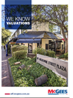 This is a thumbnail of the front cover of the Valuations Capability Statement at McGees Property